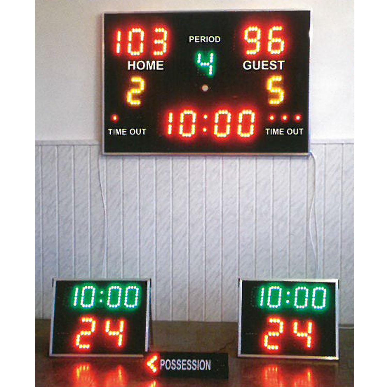 Basketball-Anzeige Set