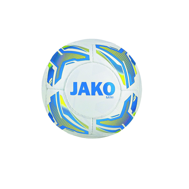 JAKO Miniball weiß/blau/gelb