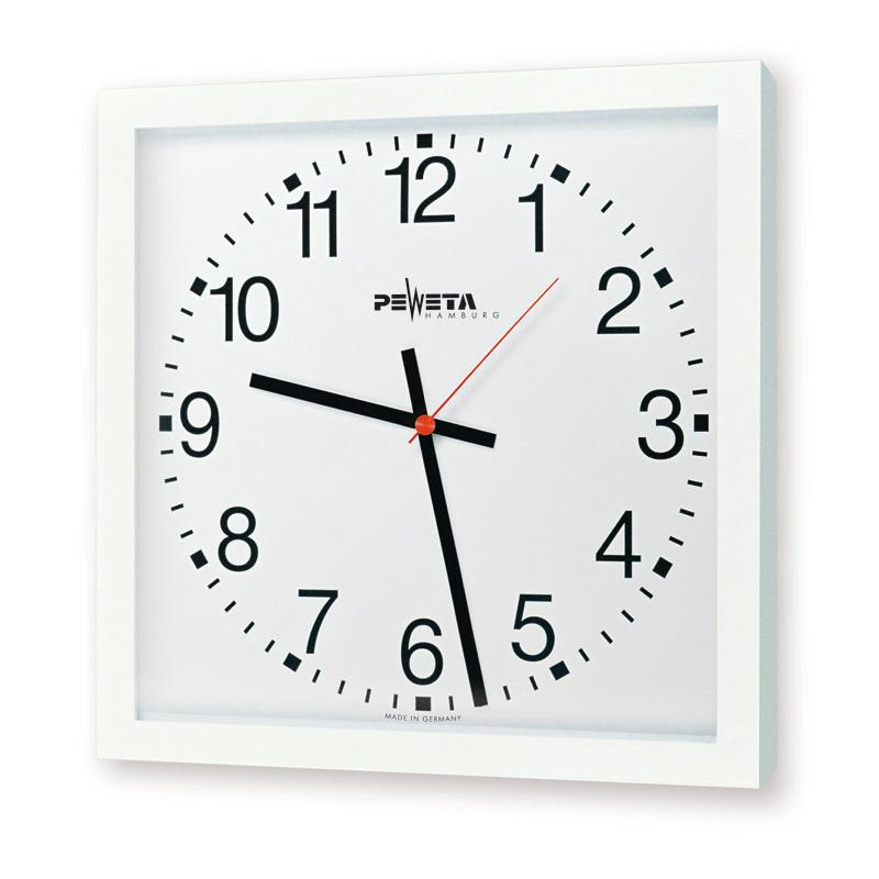 Großraum-Uhr 40 x 40 cm