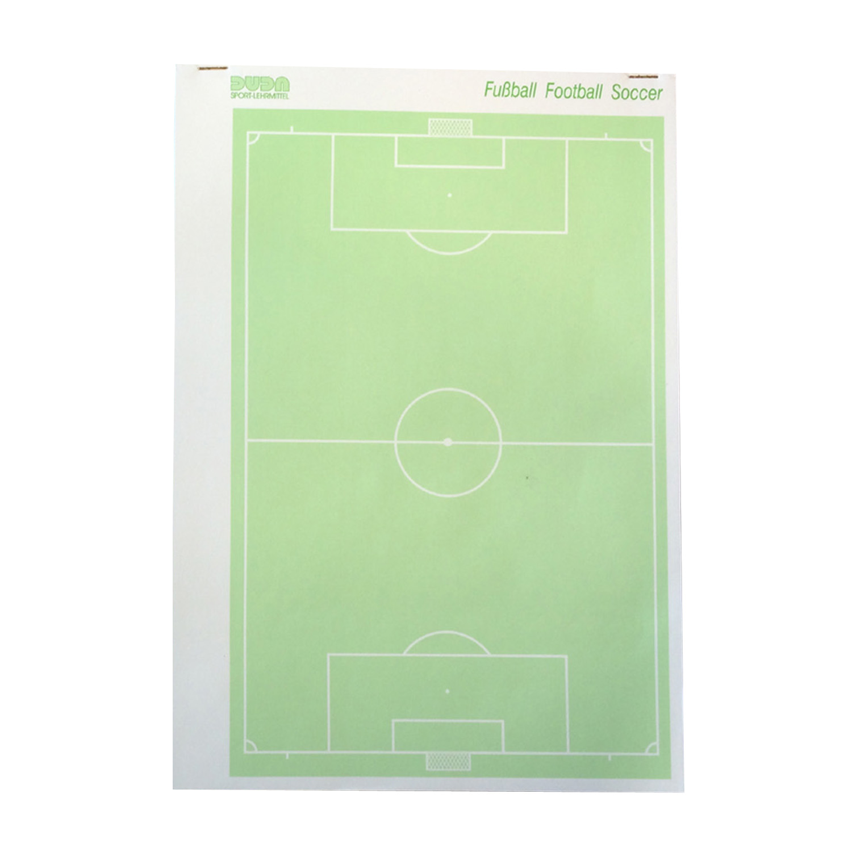 Ersatzblock f.Taktik-Mappe Fußball