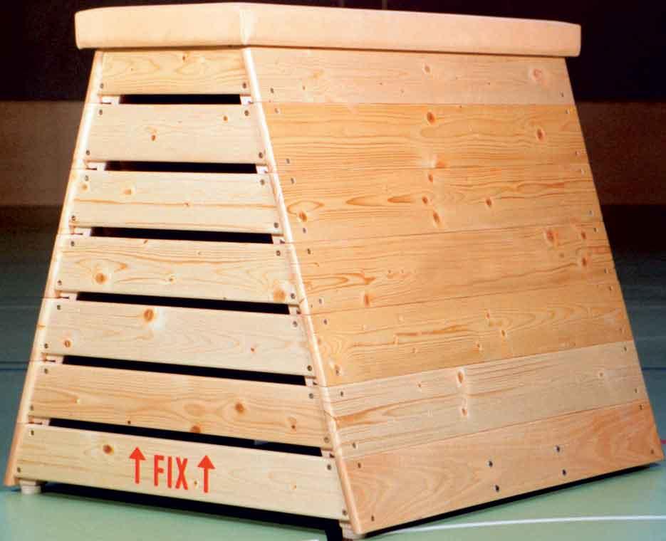 Sprungkasten trapezförmig, 7-teilig