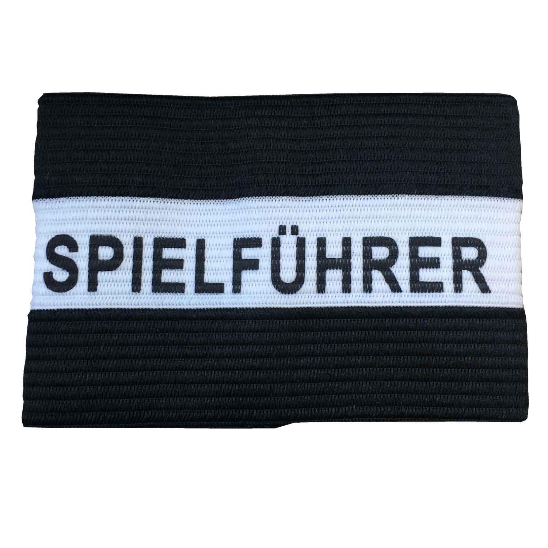 Kapitänsschleife schwarz/weiß