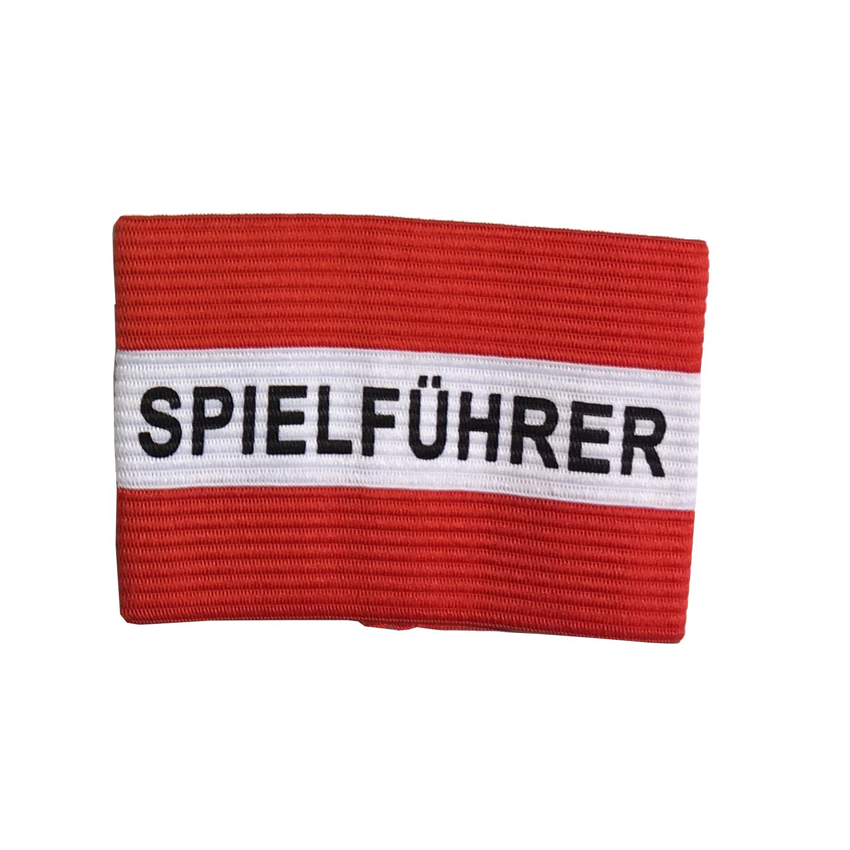 Kapitänsschleife rot/weiß